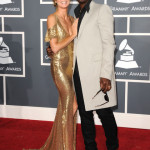 Model Heidi Klum and singer Seal arrive at The 53rd Annual GRAMMY Awards held at Staples Center on February 13, 2011 in Los Angeles, California