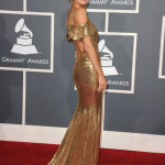 Model Heidi Klum arrives at The 53rd Annual GRAMMY Awards held at Staples Center on February 13, 2011 in Los Angeles, California