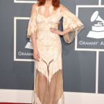 Singer Florence Welch of Florence and the Machine arrives at The 53rd GRAMMY Awards held at Staples Center on February 13, 2011 in Los Angeles, California