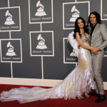 Singer Katy Perry and actor Russell Brand arrive at The 53rd Annual GRAMMY Awards held at Staples Center on February 13, 2011 in Los Angeles, California