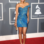 Singer Keri Hilson arrives at The 53rd Annual GRAMMY Awards held at Staples Center on February 13, 2011 in Los Angeles, California