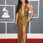 TV personality Kim Kardashian arrives at The 53rd Annual GRAMMY Awards held at Staples Center on February 13, 2011 in Los Angeles, California