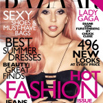 Lady Gaga Covers Harper's Bazaar May 2011