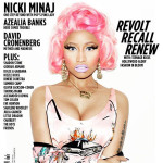 Nicki Minaj On the Cover of Wonderland