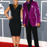 alicia keys & swizz beatz grammys 2012
