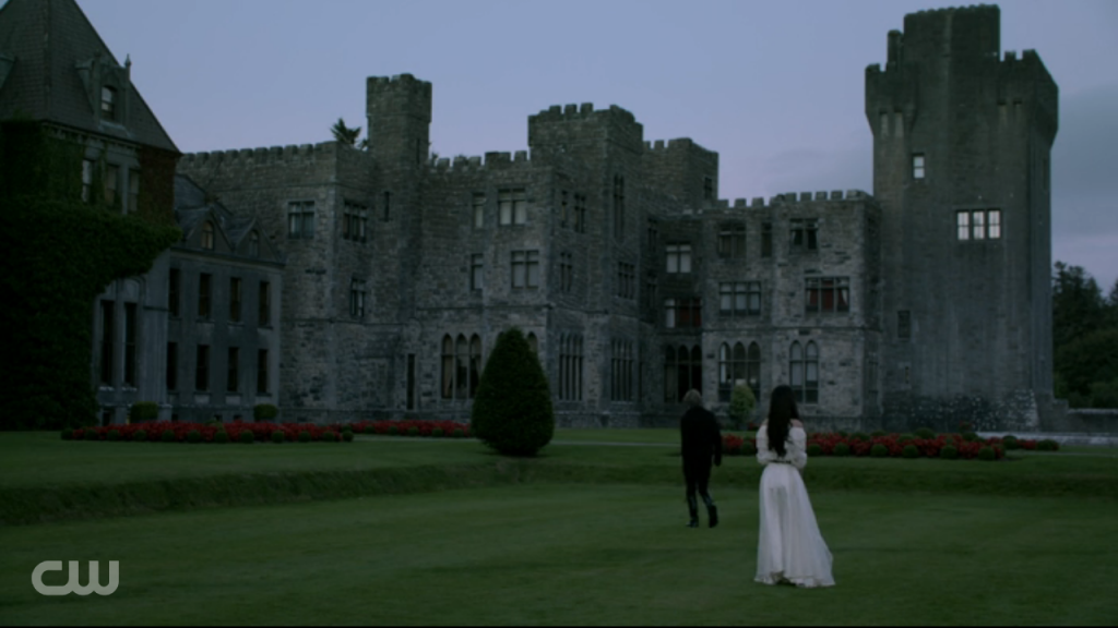 reign - mary & francis - castle view