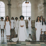 Solange is Royal in White for Wedding