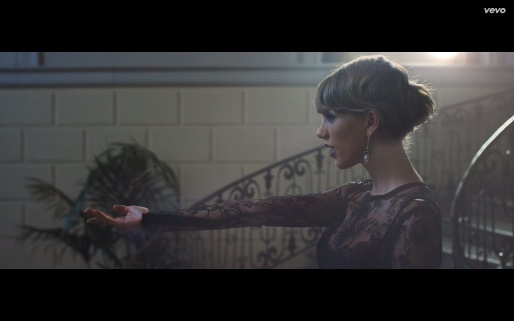 taylor swift blank space fashion black lace